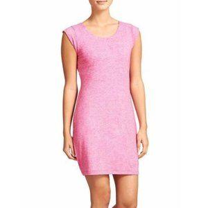 Athleta Charisma Dress Pink Draping Open Back XS